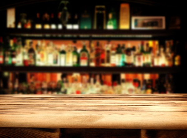 Middle bar drinks